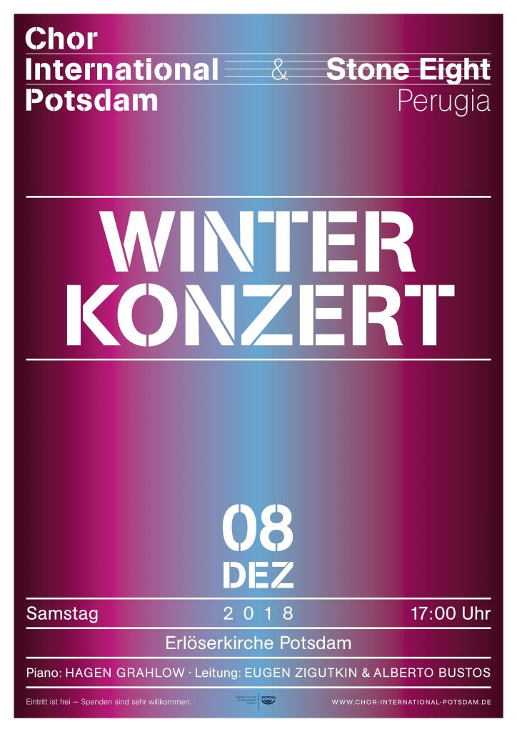 Winterkonzert Chor International Potsdam